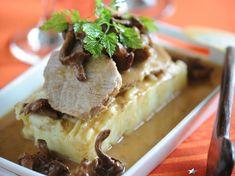 Découvrez la recette Rôti de veau aux girolles sur cuisineactuelle.fr.