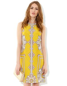 Aiesha Dress | Yellow | Monsoon