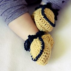 Everyday Baby Moccasins by mon petit violon, via Flickr