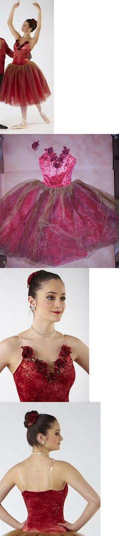 NWT FOIL SPANDEX LEOTARD GLITTERED MESH VELVET BACK SKIRT CH//AD DANCE BALLET
