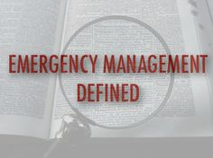 """In emergency management, we frequently use the word """"event""""–and we're almost always wrong. Emergency Management, Almost Always, Ems, Learning, Words, Studying, Teaching, Horse, Onderwijs"""