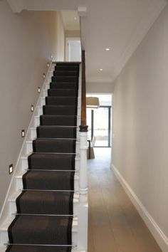 4 bedroom terraced house for sale in St Albans Avenue, London - Rightmove. Victorian Hallway, Victorian Terrace House, Edwardian House, Victorian Homes, Edwardian Staircase, House Entrance, Entrance Hall, House Stairs, House Front