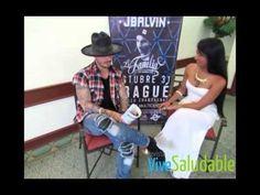 Entrevista de J Balvin con la Revista Vive Saludable - YouTube