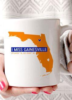 I Miss Gainesville UF Coffee Mug - elle & k boutique