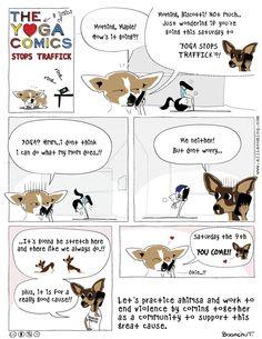 The Yoga Comics stop traffick.