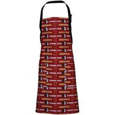 Florida State Seminoles (FSU) Garnet Barbecue Apron
