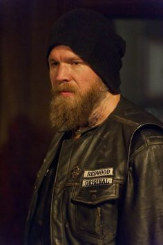 Opie - Sons of Anarchy  He's the only guy that has died that I'll miss !