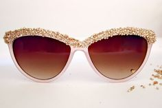 Gold Beaded Sunnies | 18 Unusual Ways to Style Up Your Sunnies