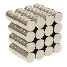 SchöN 200 Stücke Dia 14mm X 3mm Kleine Dünne Neodym Disc Magneten N35 Handwerk Reborn Kühlschrank Diy Ndfeb Magnetische Materialien Heimwerker