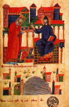 san-benedetto-e-desiderio-di-montecassino-miniatura-dellxi-secolo-cod-vat-lat-1202-f-2r-roma-biblioteca-vaticana