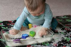Rice Play for all ages  FUN AT HOME WITH KIDS