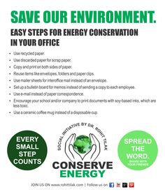Save Our Environment !