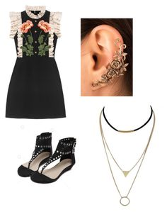 """""""Mila's party wear"""" by pantsulord on Polyvore featuring Gucci"""