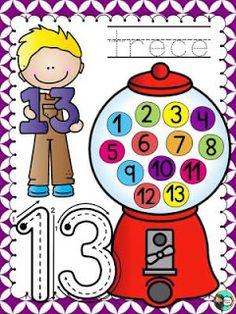 Educación Preescolar, la revista: Los números