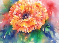 Joanne Thomas has been painting more vibrant poppies! Learn how to paint this one on her new DVD. Find out more at BrushoSecrets.com