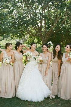 Grecian Inspired Bridesmaids Dresses   photography by http://beauxartsphotographie.com/