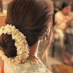 5 Top Trends in Bridal Hairstyles Bridal Hairstyle Indian Wedding, Bridal Hair Buns, Bridal Braids, Bridal Hairdo, Indian Wedding Hairstyles, Hairdo Wedding, Wedding Bride, Saree Hairstyles, Loose Hairstyles