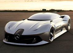 """Neueste Technik trifft zeitlose Formen: Mercedes-Benz """"2040 Steamliner"""" Für Mercedes-Benz sieht die Zukunft elegant aus, zumindest wenn man ihr neues Konzeptfahrzeug """"2040 Steamliner"""" als richtungsweisend ansieht. M..."""