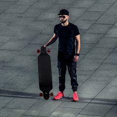 """41"""" X 9.5"""" Longboard Skateboard Cruiser"""