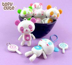 Pastel Lolly Panda Kawaii Phone Charm | Flickr - Photo Sharing!