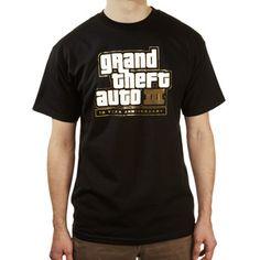 STORE Grand Theft Auto III Ten Year Anniversary Tee