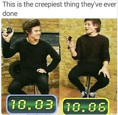 This is one of the creepiest things they've ever done Larry One Direction Humor, One Direction Pictures, I Love One Direction, Larry Stylinson, Louis Tomlinson, Harry Styles, Larry Shippers, Harry 1d, Louis And Harry