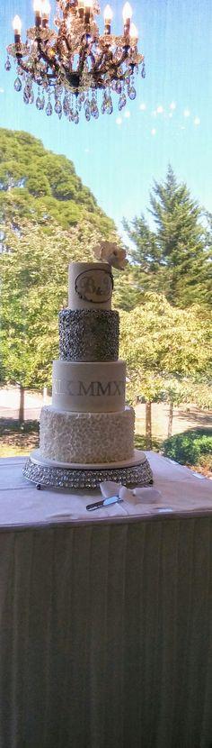 Bilal and Yalda's Wedding Cake