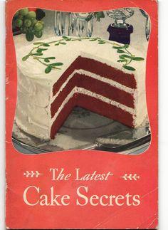 Vintage Cookbook 1934 Swans Down Cake Flour - Cake Secrets
