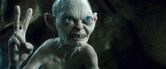 When you run into someone you went to high school with. | 26 Gollum Reaction Faces Every Twentysomething Needs