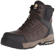 Carhartt Men's 6 Inch Force BN Cmp Toe Work Boot ** Trust me, this is great! Click the image. : Carhartt Boots