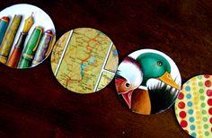 Haz posavasos con Cd´s reciclados Onderzetters maken van oude CD's