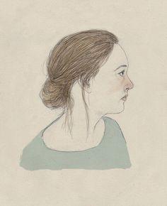self portrait by Lizzy Stewart, via Flickr