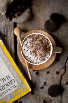 """wellwithcoffee: """" Foamy cappucino """""""