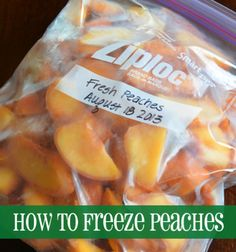 it for later How to Freeze Peaches I like to freeze fruit. It's so easy . -Pin it for later How to Freeze Peaches I like to freeze fruit. It's so easy . Fruit Recipes, Snack Recipes, Snacks, Peach Cake Recipes, Fresh Peach Recipes, Nutella Recipes, Freezer Cooking, Freezer Meals, Sauces