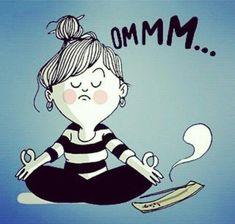 Meditation   We Heart It   namaste