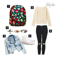 Disney Inspiration for the Best First Day of School Outfit | Fashion | Disney Style