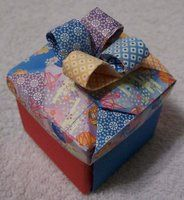another cute square origami box