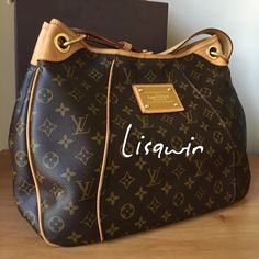 % Authentic Galleria PM  Excellent condition, comes with box and dust bag. Louis Vuitton Bags Shoulder Bags