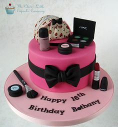 MAC cosmetics cake by Clever Little Cupcake Company
