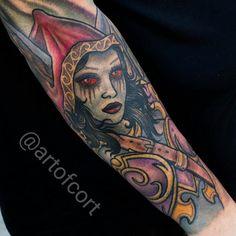 World of Warcraft tattoo sleeve #worldofwarcraft #wow #tattoo