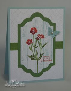 LW Designs: Wild About Flowers Thanks