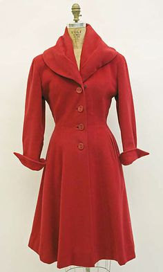 Little Red Coat, House of Dior
