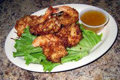 Coconut-Crusted Fried Shrimp