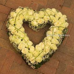 open rouwhart / open funeral heart