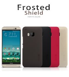 Original Nilkin Super Frosted Shield Hard Back PC Cover Case for HTC One M9 Phone Case + Screen Protector