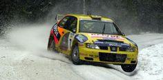 Didier Auriol-Denis Giraudet. SEAT Córdoba WRC. Swedish Rally 2000