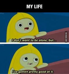 """Adventure Time 676525175260590135 - When Banana Man was lonely but also fine. 19 Times """"Adventure Time"""" Really Wanted To Make You Cry Source by seilahrogue Adventure Time Quotes, Adventure Time Finn, Cartoon Network, Adveture Time, Banana Man, Finn The Human, Jake The Dogs, Pokemon, Make You Cry"""