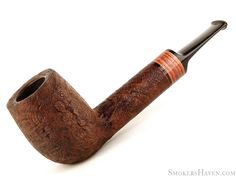 Chheda Pipe 274 Sandblast Lovat w/ Tulip Wood Grade 4