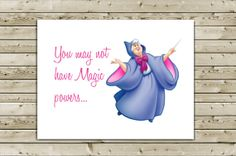 """""""You May Not Have Magic Powers...But You'll Still Be a Great Godmother!"""" Greeting Card -- SO using this to ask!! =D"""