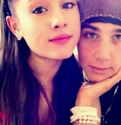 Ariana grande and who :-D
